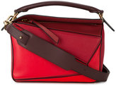 Loewe small Red Puzzle tote bag - women - Leather - One Size