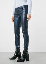 MANGO Skinny Gloss Jeans