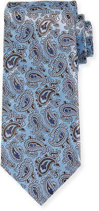 Brioni Men's Medium Paisley Silk Tie
