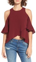 The Fifth Label Lovers & Friends Cold Shoulder Blouse