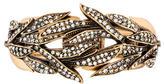 Oscar de la Renta Crystal Spike Hinge Bracelet