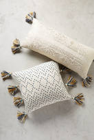 Anthropologie Tasseled Pointilliste Pillow