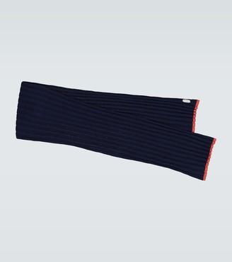 Brunello Cucinelli Cashmere single striped scarf