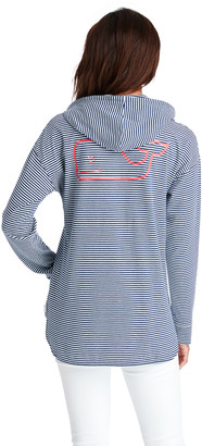 Vineyard Vines Striped Long-Sleeve Edgartown Hoodie Tee