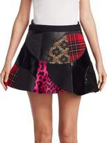 Junya Watanabe Patchwork Mini Skirt