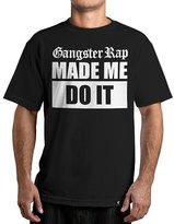 Famous Stars & Straps Men's Gangster Rap SS T Shirt Black XL