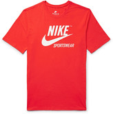 Nike Printed Cotton-Jersey T-Shirt