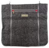 Oscar de la Renta Tweed Garment Bag