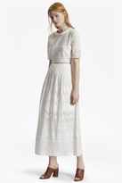 French Connection Hesse Embroidered Maxi Dress