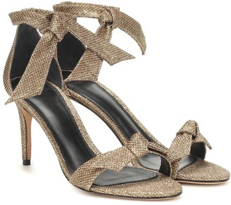 Alexandre Birman Clarita metallic sandals