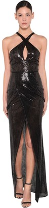 DSQUARED2 Long Sequined Dress