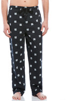 Lucky Brand Clover Print Woven Lounge Pants