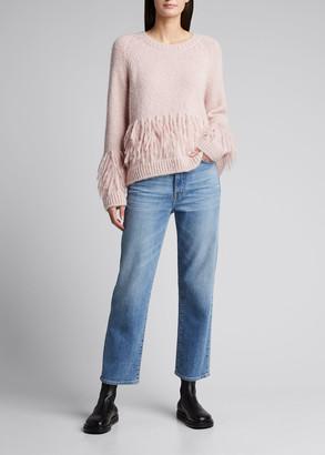 Cinq à Sept Izabella Fringe Sweater