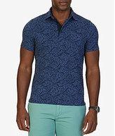 Nautica Leaves Print Short-Sleeve Polo Shirt