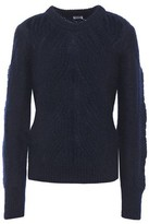 Filippa K Cable-knit Mohair-blend Sweater