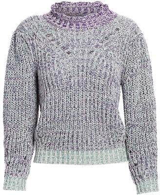 Etoile Isabel Marant Lotiya Puff-Sleeve Sweater