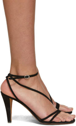 Isabel Marant Black Arora Sandals