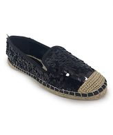 C Label Black Sequin Adler Espadrille