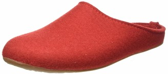 Haflinger Low-Top Slippers Everest Fundus Unisex Adults' Red 3 UK