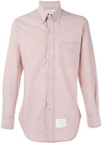 Thom Browne plain shirt - men - Cotton - 2