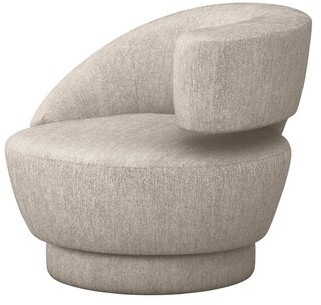 Interlude Arabella Swivel Lounge Chair Upholstery Color: Bungalow