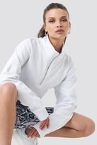 NA-KD Half Zip Pullover Black