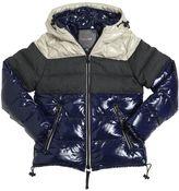 Duvetica Nylon & Flannel Down Jacket