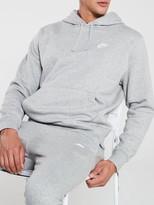 Nike Sportswear Club Fleece Overhead Hoodie- Dark Grey