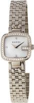 Gucci Pavé Diamond G Bracelet Watch