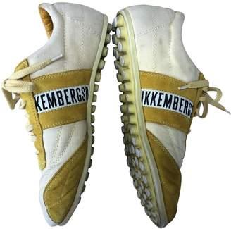Dirk Bikkembergs \N Yellow Cloth Trainers