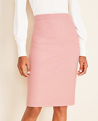 Ann Taylor The Petite Pencil Skirt in End on End