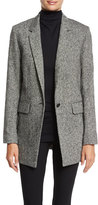Rag & Bone Ronin Wool-Blend Blazer, Black/White