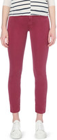 7 For All Mankind Roxanne slim-fit cropped mid-rise jeans