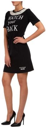 Boutique Moschino Double Logo Mini Dress