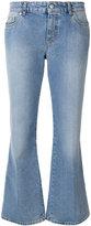 Alexander McQueen flared jeans - women - Cotton - 38