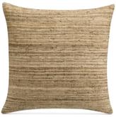 "Savannah Home Morris Texture Stripe 18"" Square Decorative Pillow"