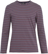 A.P.C. Mariniere long-sleeved striped cotton T-shirt