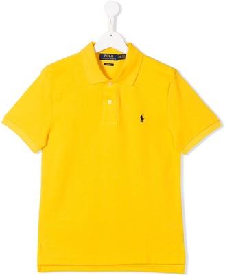 Ralph Lauren Kids logo polo T-shirt