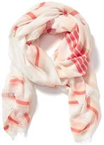 Old Navy Patterned Linear Scarf for Women