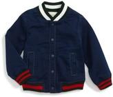 Gucci Infant Boy's Chambray Bomber Jacket