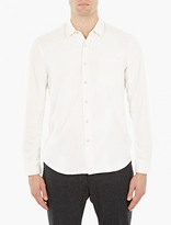 Our Legacy Off-White Raw Silk Shirt