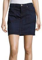 Velvet by Graham & Spencer Fitted Denim Skirt