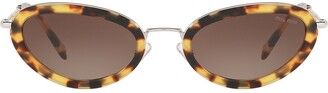 Miu Miu Delice cat eye sunglasses