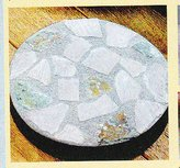 "Biedermann & Sons Biedermann and Sons Mosaic Stone Pillar Holder 8"" (H3010MD)"