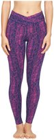 Yummie by Heather Thomson Hannah Smooth Support Active Leggings - Wild Aster - Medium