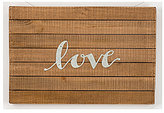 Primitives by Kathy Hand Lettered Collection Love Slatted Wood Sign