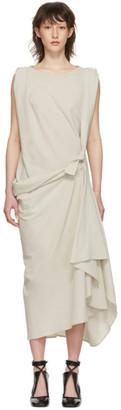 Lemaire Grey Asymmetrical Dress