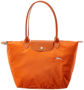 Longchamp Le Pliage Club Large Nylon Long Handle Tote