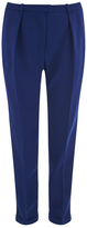 Carven Women's Pantalon Crepe Trousers Navy