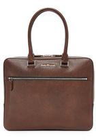 Salvatore Ferragamo Evolution Leather Briefcase